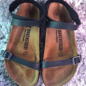 Birkenstock Daloa Black Sandals Women Sz 38 M